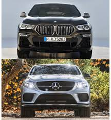 Global sales to begin from the first half of 2020. Photo Comparison G06 Bmw X6 Vs Mercedes Benz Gle Coupe