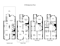 8 best brownstone floorplans images on pinterest floor plans House Plans For Brick Homes brownstone floor plan definitely too large and too formal for my lifestyle, so i'd need to change up a lot house plans for brick houses