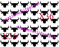 купить 36 Piece 15 Black Bull Temporary Tattoo Bbc на Ebaycom из