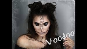 original easy voodoo doll makeup tutorial
