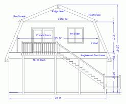 gambrel roof house plans. Barn Roof Angles Apartments House Plans With Gambrel Roof: