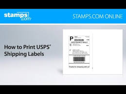 Online Shipping Labels Stamps Com Online How To Print Usps Shipping Labels Youtube
