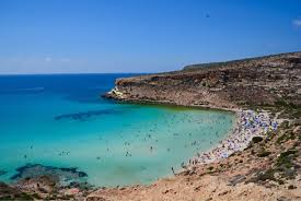 Lampedusa Lampedusa E Linosa Italy Rabbit Beach Lampedusa