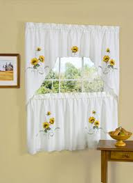 Kitchen Curtains Yellow Ideas For Window Curtain Designs