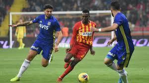 Kayserispor-Fenerbahçe: 1-0 - Fenerbahçe - Spor Haberleri
