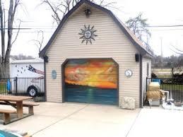 garage door murals60 best garage door art images on Pinterest  Garage doors Door