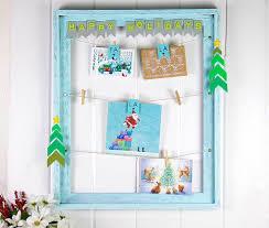 Christmas Card Picture Diy Christmas Card Display Ideas For Home Fiskars