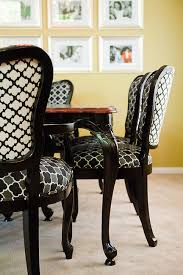 excellent black and white dining room chairs 14