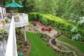 Steep Hill Garden Design Steep Sloped Backyard Ideas Homideal