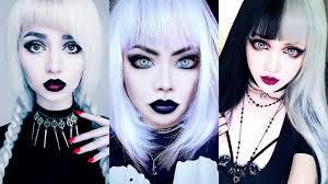 maquillaje gÓtico 2018 moda dark goth makeup tutorial pilation