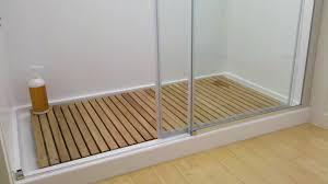 bathroom teak shower mat versatile addition to your bathroom brahlersstop com