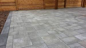 interlocking pavers vs poured concrete