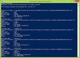 Powershell Windows How To Get Windows Installed Driver List Using Powershell