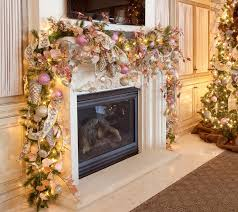 ... Beautiful Christmas Mantel Decoration Mantel Christmas Decorations  Special Event Design