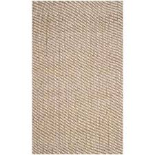 natural fiber beige 6 ft x 9 ft area rug