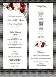 sample wedding program wording sample of wedding program 8 sample wedding program wording packaging