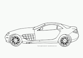 Coloriage Automobile Les Beaux Dessins De Transport Imprimer