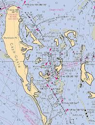 Pine Island Sound Chart Useppa Cabbage Key Cayo Costa Nautical Chart