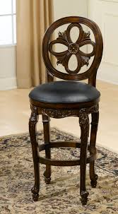 hillsdale bar stools. Hillsdale Rosalee Swivel Bar Stool Distressed Cherry With Copper Intended For Fleur De Lis Stools Plan 9 A