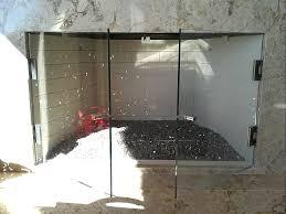 frameless glass fireplace doors. Frameless Glass Fireplace Doors S