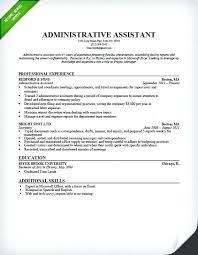 Administrative Assistant Duties Resume Admin Assistant Job