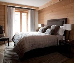 ski chalet interior bedroom rustic with ski lodge square decorative pillows