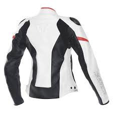 racing d1 lady leather jacketdainese