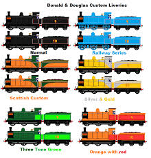 donald douglas and their custom liveries