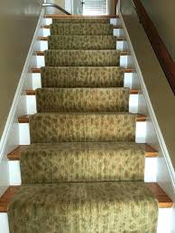 animal print rug runners for stairs stair best images on runner leopard