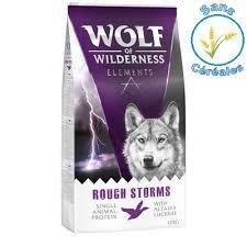 Avis Wolf of Wilderness rough storms canard chien