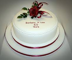 Simple Anniversary Cake Red Pictures Romantic Anniversary Cake Ideas