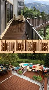 Deck Design Ideas Quiet Corner Balcony Deck Design Ideas Quiet Corner