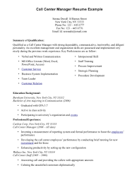 Call Center Resume Sample Call Center Resume Samples Resume Templates Call Center Resume 2