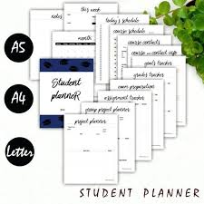 Sample Student Agenda Beauteous Student Agenda Template Planner Daily Free Elementary Deepwaters