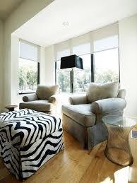 Zebra Living Room Decor Furniture Cube Zebra Ottoman Design Ideas Decorative Zebra