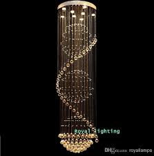 big stairway crystal chandelier led lamps long creative europe crystal led lights luxury hotel hanging light living room chandeliers crystal chandelier