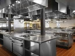 Square Kitchen Layout Restaurant Kitchen Design Wwwplentus