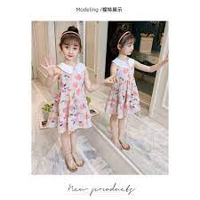Váy cho bé 5 tuổi (3-12 tuổi) ️ (3 - 12 tuổi) ️ Thời trang bé gái 2 tuổi ️  ️ đầm bé gái 14 tuổi chính hãng 165,600đ