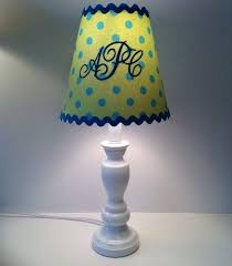 monogrammed lamp shades monogrammed lamp shade lime green with turquoise polka dots on monogrammed lamp shade monogrammed lamp shades