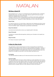 8 Example Of A Good Curriculum Vitae Graphic Resume