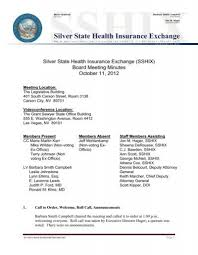 View job description, responsibilities and qualifications. Action Minutes Silver State Health Insurance Exchange