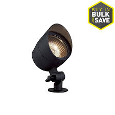 lighting spotlights. portfolio 20watt black low voltage halogen spot light lighting spotlights