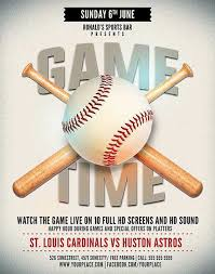 Free Baseball Flyer Template Download The Baseball Game Event Flyer Template Psd Ffflyer