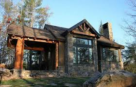 small stone cabin plans house mountain log floor kits simple cottage english stone cottage house