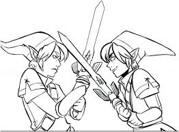 Link Coloring Pages Legend Of Zelda Coloring Pages 559 Coloring