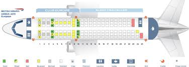 A319 Seating Chart British Airways Fleet Airbus A319 100 Details And Pictures