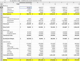 Components Of Income Statement Unique Startup Financial Modeling Part 44 The Balance Sheet Cash Flow