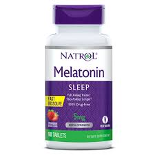 Find Melatonin Fast Dissolve Sleep Aid Supplement Natrol