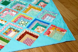 Lake Cabin scrap quilt — Stitched in Color & This weekend I finished quilting and binding this impulsive scrap quilt. I  do think that heat setting my spray basting helped because this quilt was  very ... Adamdwight.com