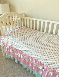 pink and gold toddler bedding mint toddler bedding gold dot toddler bedding sets pink toddler bedding crib bedding set for toddlers girl toddler bedding